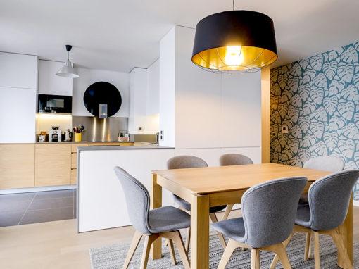 Appartement parisien sur plan